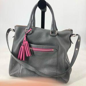 Coach Purse Pink Tassel Bag Convertible